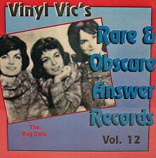 VINYL VIC'S 'Rare & Obscure Answer Records' - Vol# 12 - 30 VA Tracks