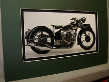 1931 Ariel Square Four British Motorcycle Exhibit from Automotive Museum