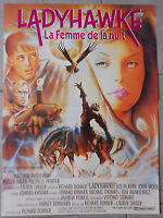 Plakat Ladyhawke La Femme De La Nuit Broderick Michelle Pfeiffer 40x60cm