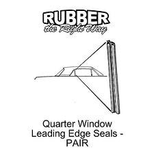 1964 1965 1966 Ford Thunderbird Quarter Window Seals - pair