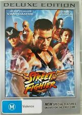 Street Fighter DVD - Deluxe Edition (PAL, 2009) Free Post