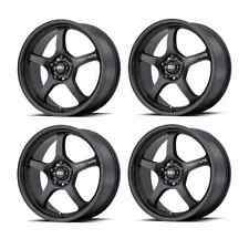 Motegi Racing MR131 MR13189012735 18X9 35mm 5x114.30 Satin Black Set of 4 Rims