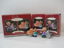 Hallmark Ornament Friendship Friend of My Heart Set of 2 1998 Cookie and Cutter