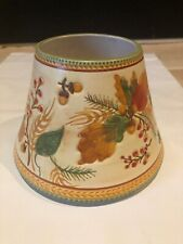 Yankee Candle Large Shade Topper Harvest Fall Flowers & Pumpkins