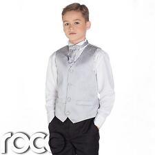 Niños Plateado y negro traje, TRAJE CEREMONIA NIÑO, Boda, niños, rayas