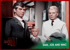 JOE 90 - Foil Chase Card #F3 - SAM, JOE AND MAC - GERRY ANDERSON COLLECTION 2017