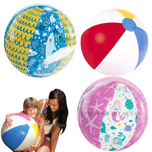 Inflatable Blow Up Kids Beach Ball Paw Patrol Princess Cars Giant Football &More