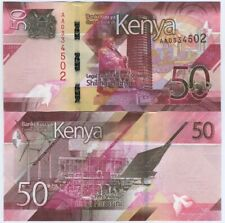 Kenya 2019 year 50 shilling BrandNew Banknotes