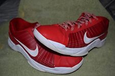 Nike Men's HYPERDUNK Shoes Red White Size 12 GUC