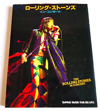 THE ROLLING STONES IN CONCERT JAPAN PHOTO BOOK 1982 Mick Jagger Keith Richards