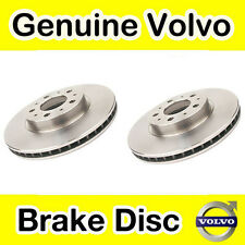 Genuine Volvo S70, V70 (-00) C70 (-05) Front Brake Discs (300mm) (Pair)