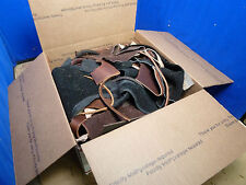 5 LBS SCRAP LEATHER MISCELLANEOUS WEIGHTS AND SIZES [H2.0B]