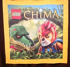 EXTRA  LARGE OFFICIAL LEGO STORE LEGENDS OF CHIMA 6' X 6' DISPLAY FABRIC BANNER