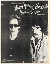 8/10/1977Pg23 Album Advert 15x10 Daryl Hall & John Oats, Beauty On A Back Street