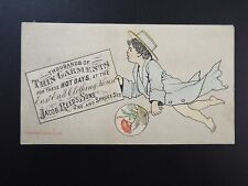Vintage East End Clothing House trading card