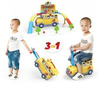 3 In 1 Baby Walker Go! Go! Funny Bus With Track Light Sound Multifunction 15
