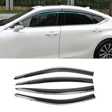 For Lexus ES250/300h 2018-2019 Window Sun Vent Visor Rain Guards Sun/rain Shield