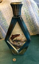 Vintage Beams Choice James Lockhart FISH Whiskey Decanter Bottle Empty
