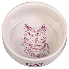 Trixie COMEDERO CON MOTIVOS Y escrito. CAT, 11 cm / 300 ml, NUEVO