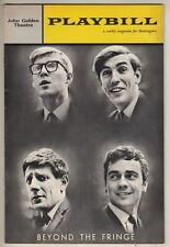 """Peter Cook & Dudley Moore   Playbill  """"Beyond The Fringe""""  1962    Broadway"""