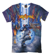 Significant other t-shirt Limp Bizkit all over print colorful tee rock rap style