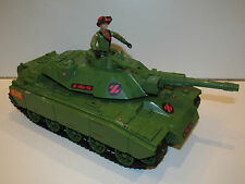 1983 GI JOE / ACTION FORCE Z-FORCE BATTLE TANK COMPLETE w/ STEELER PALITOY
