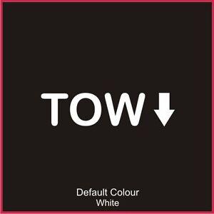Tow Decal 2, Vinyl, Sticker, Graphics, Renaultsport, Clio, Car, N2053