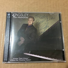 KINGSLEY_Piano Masterpieces CD _Set 2 CD Signed  _Very Good.