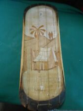 Great Collectible Vintage AFRICAN Wood String Musical Instrument