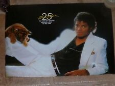 MICHAEL JACKSON - THRILLER !!SONY FRANCE !! French promo poster !LAST COPIES