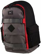Vans Off The Wall Jetter Skateboard Laptop Backpack Black Gray Red New NWT