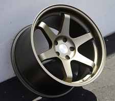 "18"" ESR SR07 18x9.5 +35 5X114.3 Bronze Wheels For Honda Accord RX8"