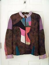 CHICO'S DESIGN : Multi color Jacket . Size 3