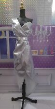 Barbie The Look: Silver Dress Evening gown ( dress only)