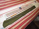 Vintage Split Bamboo Fly Fishing & Spinning Rod Flyrod MONTAGUE Massachusetts