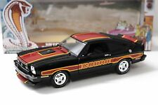 1:18 Greenlight Ford Mustang II Cobra II 1978 black NEW bei PREMIUM-MODELCARS