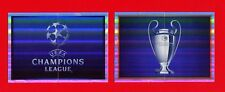 CHAMPIONS LEAGUE 2015-16 Topps -Figurine-stickers - LOGO AND CUP -New