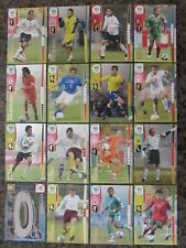 WORLD CUP 2006 SOCCER CARDS PANINI - BRAZIL, HOLLAND, MEXICO, USA, GERMANY, ETC.