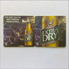 Tooheys Extra Dry The Beer For The Nocturnal Migration 2 x Coaster (B346)