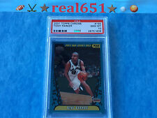 2001 Topps Chrome #155 TONY PARKER Rookie | Spurs RC | Perfect PSA 10 Gem Mint