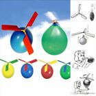 3 Balloon Helicopter Fun Fly Toys Kids Children's Party Bags Loot Favour Gift