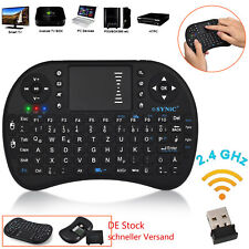 Mini Funk Tastatur mit Touchpad kabellos Wireless Keyboard PC/TV BOX /PS3 2,4GHz