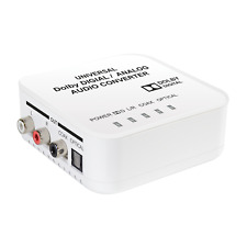 J-Tech Digital Dolby Digital To Analog Decoder,Analog to Digital Audio Converter