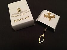 AVIATION TIE PIN HAWK 100 JET AIRCRAFT PRESENTATION ITEM OF ROYAL THAI AIR FORCE