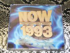 Now That's What I Call Music! 1993 Original CD Album Fatbox Case  EMI