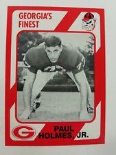 Paul Holmes Jr Georgia Bulldogs UGA Dawgs 89 Collegiate Collection Atlanta GA