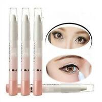 2pcs Eye Shimmer Pearl Eyeliner Pencil Pen Make Up Cosmetic White Highlighter
