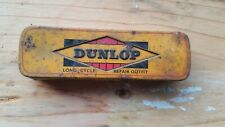 Vintage Dunlop 'Cycle Repair Outfit Tin Puncture Kit Cycling Bicycle