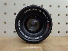 Canon FD 50mm f 1.4 S.S.C. Lens Parts/Repair