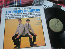 Everly BrothersThe Very Best Of The Everly Brothers W1554 Mono UK Vinyl LP Album